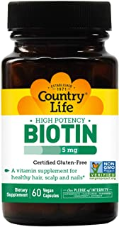 Sponsored Ad - Country Life BioTin High Potency, 5 Mg, 60 Count