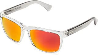 Electric Visual Knoxville Cool Grey/Grey Fire Chrome Sunglasses