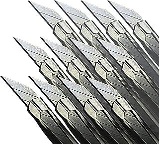 Precision Razor Edge Stainless Steel Utility Cutting Blade x12 Vinyl Wrap Tool Bulk Pack Retractable Locking Breakable