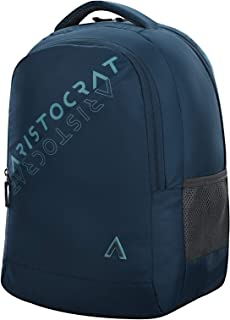 Aristocrat 27 Ltrs Teal Blue Casual Backpack (Trax)