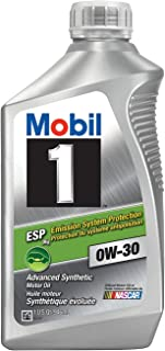 Mobil 1 121218-6PK ESP Motor Oil - 1 Quart (Pack of 6)