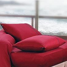 Oxford Large Size 1 PCs Pure Cotton Pillow Cover - 400 TC