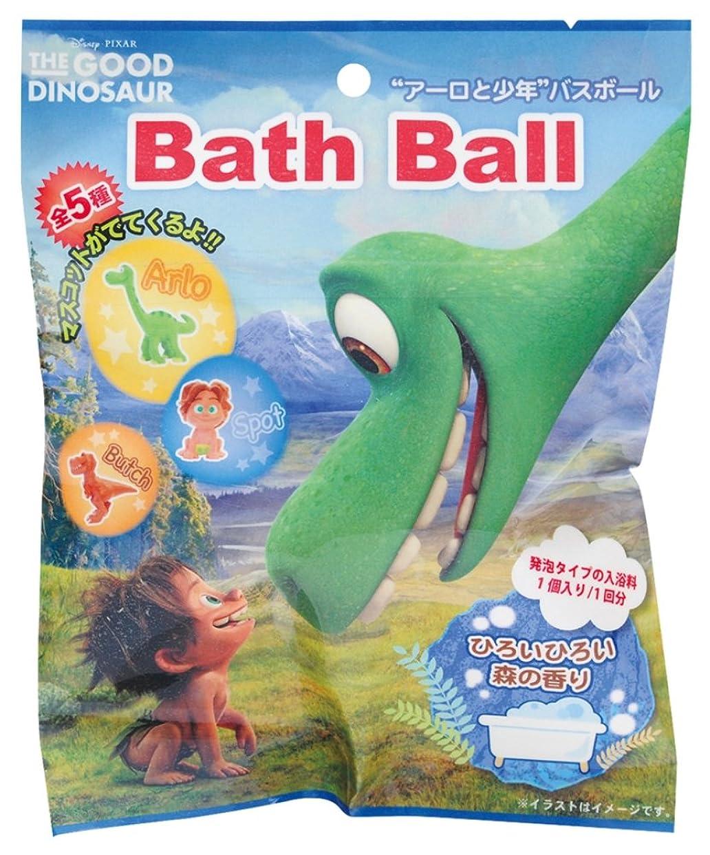 線形パックハードディズニー ピクサー 入浴剤 アーロと少年 バスボール おまけ付き DIP-84-01