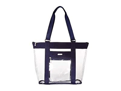 Baggallini Clear Event Compliant Tote (Dark Blue) Handbags