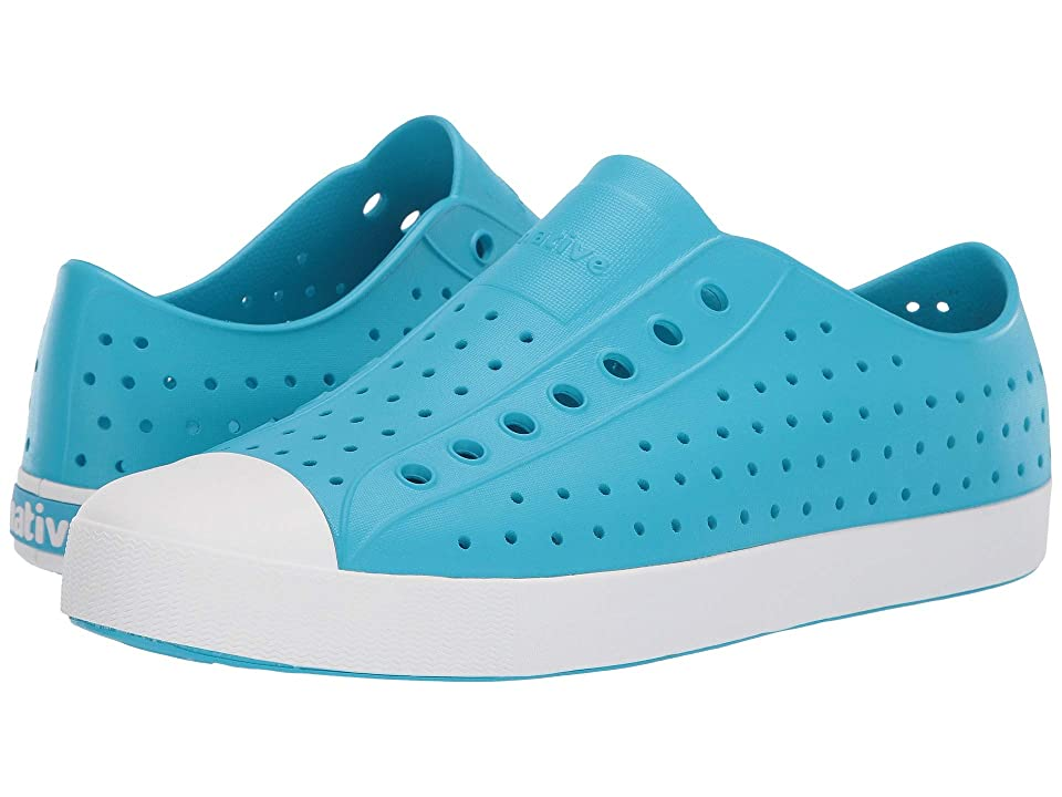 Native Shoes Jefferson (Ultra Blue/Shell White) Shoes