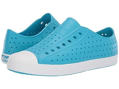 Native Shoes Jefferson (Ultra Blue/Shell White) Shoes