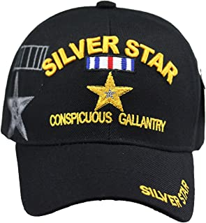 Silver Star U.S. Military Cap Hat Official