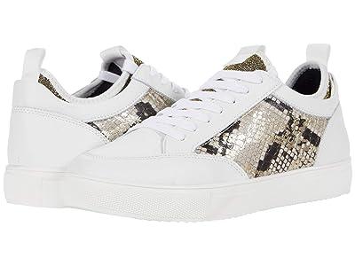 Steve Madden Bliss Sneaker (Gold Snake) Women