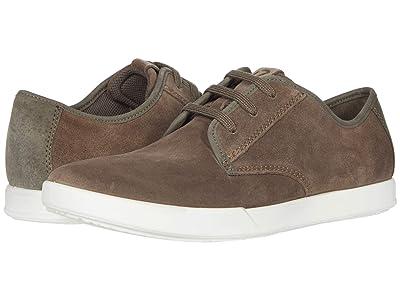 ECCO Collin 2.0 Simple Sneaker (Dark Clay/Dark Clay) Men