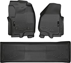 Husky Liners 99711 Black Weatherbeater Front & 2nd Seat Floor Liners (Footwell Coverage) Fits 2012-16 Ford F-250/F-350 Crew Cab