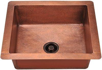 904 Single Bowl Copper Sink, Sink Only