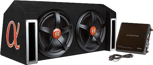 ALPHASONIK APP122 Complete 1500 Watts Dual 12