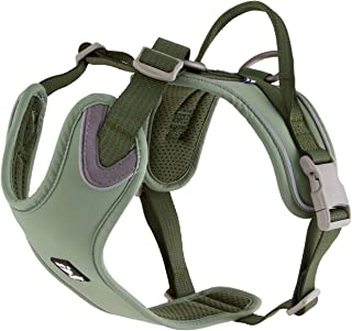 Hurtta Weekend Warrior ECO Dog Harness, Hedge, 39-47 in