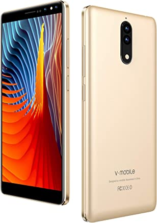$68 » V Mobile N8,Unlocked Smart Phone,5.5 Inch,16GB ROM, 8MP+5MP Camera,Dual SIM,2800mAh Battery,Quad-core,Android 7.0,3G Unlocked Cell Phones Support AT&T and T-Mobile.