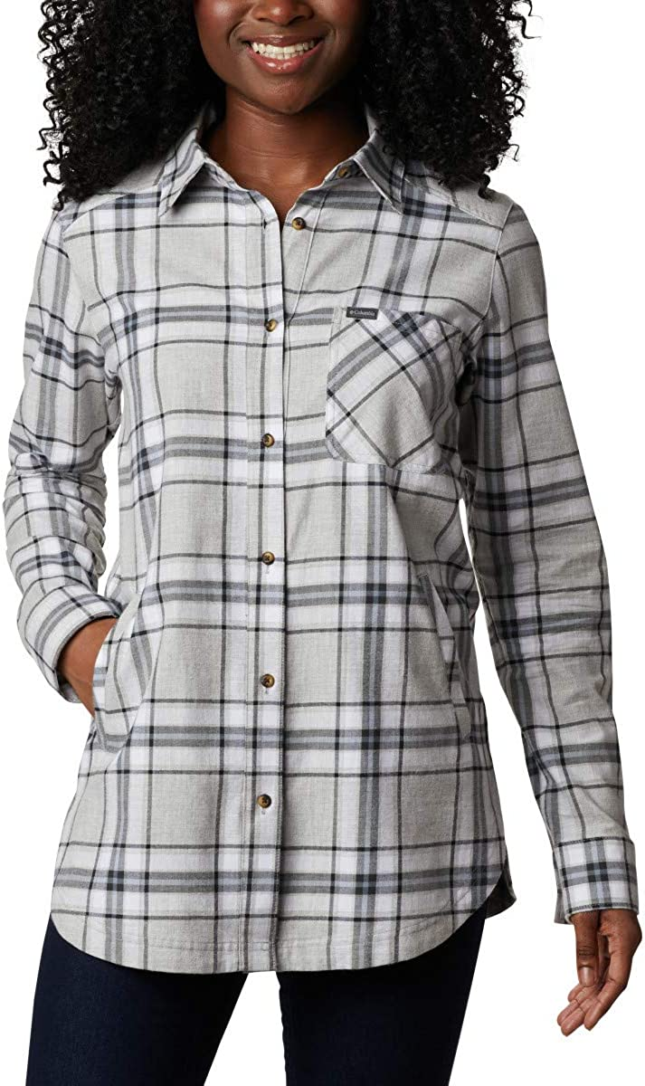 Columbia Womens Max 90% OFF Sunday Tunic Plaid Cheap super special price Summit