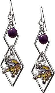 NFL Triangle Logo Dangler Earrings
