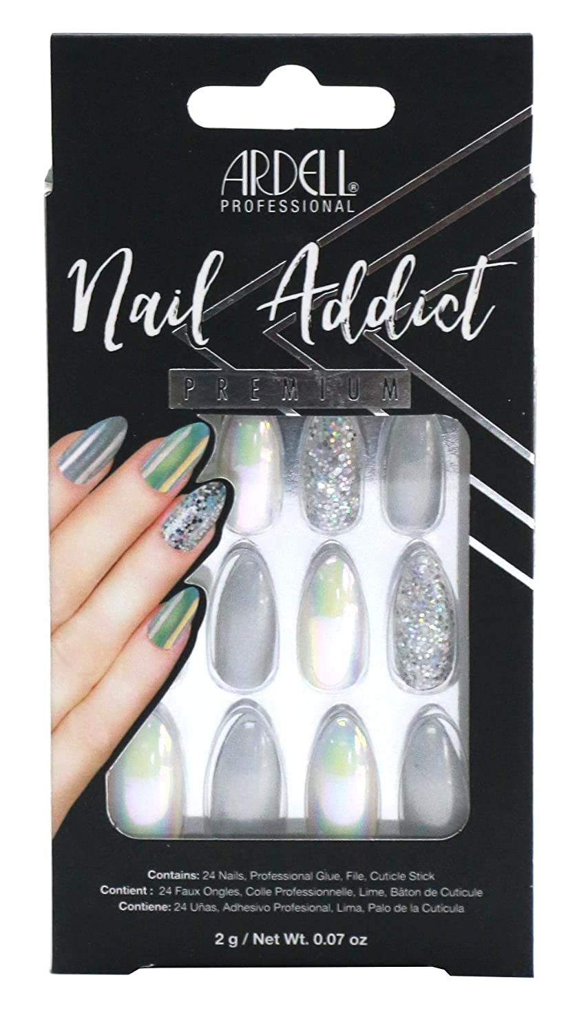 Ardell Nail Addict Holographic of Max 46% OFF Glitter 4 Pack Reservation