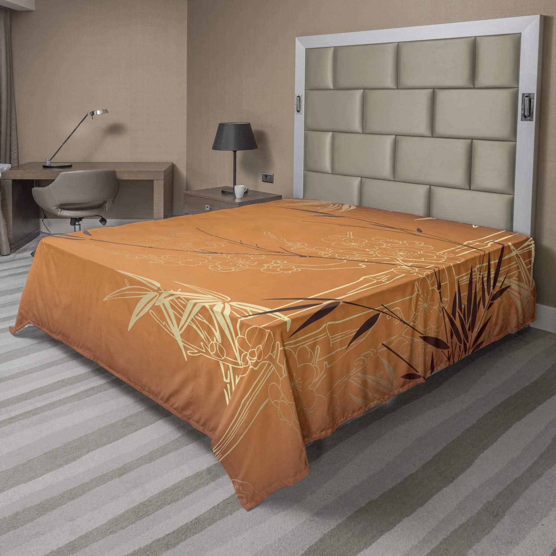 Orange Bamboo Top
