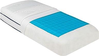 Beautissu Poduszka żelowa Memory Foam BeauErgo GN żelowa poduszka podpierająca kark – 65 x 40 x 14 cm – poduszka z pianki ...