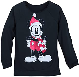 Mickey Mouse Holiday Top for Women Black