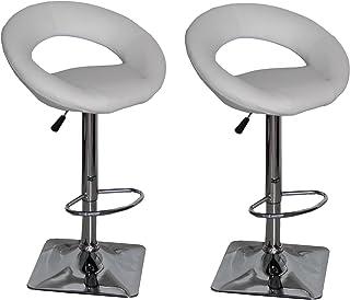US Pride Furniture Daisy Adjustable Swivel Bar Stools,...