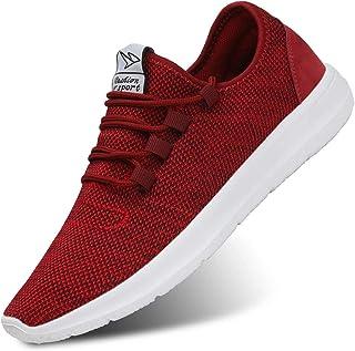 کفش های دویدن مردانه KEEZMZ کفش های تنفسی مد مش تنها کفش گاه به گاه ورزشی سبک وزن