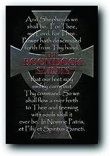 Scorpio The Boondock Saints Cross Poem Poster Print