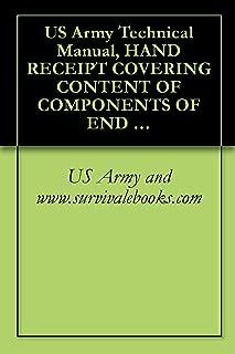 us army hand receipt