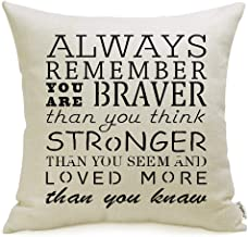 Amazon Com Inspirational Pillows With Quotes