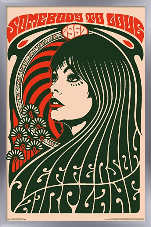 Jefferson Airplane Somebody To Love Poster