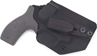 Sunsmith Holster - Compatible with Smith & Wesson M&P Bodyguard 38 Special Ambidextrous IWB Kydex Holster Inside Waistband Concealed Carry Holster Made in USA by Fast Dray USA