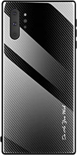 Samsung Galaxy Note 10 Plus Case/Case Samsung Note 10 Plus 5G (2019),Wireless Rechargeable,Strong and Soft,Premium Quality,Bright Black case/Galaxy Note 10+ Plus/Note 10 Pro Case / 3D Cover