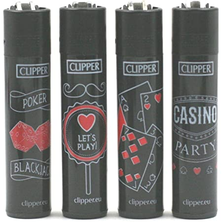 Winter Mix 3 Tabac du Bassigny Lot de 4 Briquets Clipper