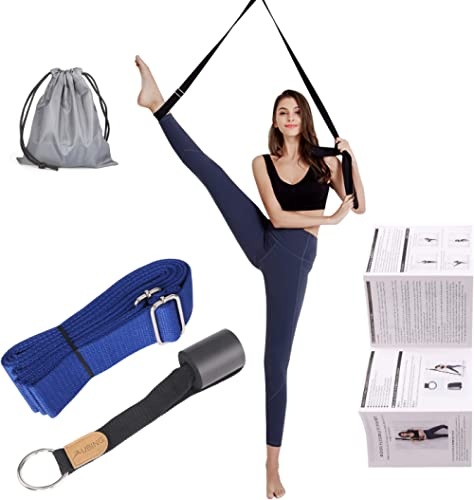 UBING Leg Stretcher, Door Flexibility Trainer, Over The Door Strech Strap for Flexibility, Splits Trainer for Dance B...