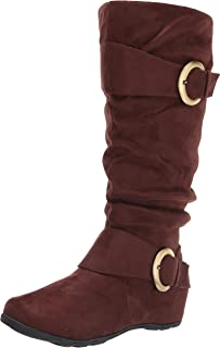 Journee Collection Women's Mid Calf Boots
