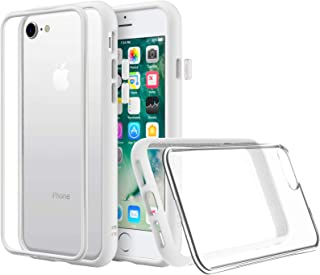 RhinoShield iPhone SE (第二世代) / 8 / 7 | Mod NX耐衝撃ケース - 通常背面ケースとバンパーケースの使い分けが可能 - ホワイト/クリア背面
