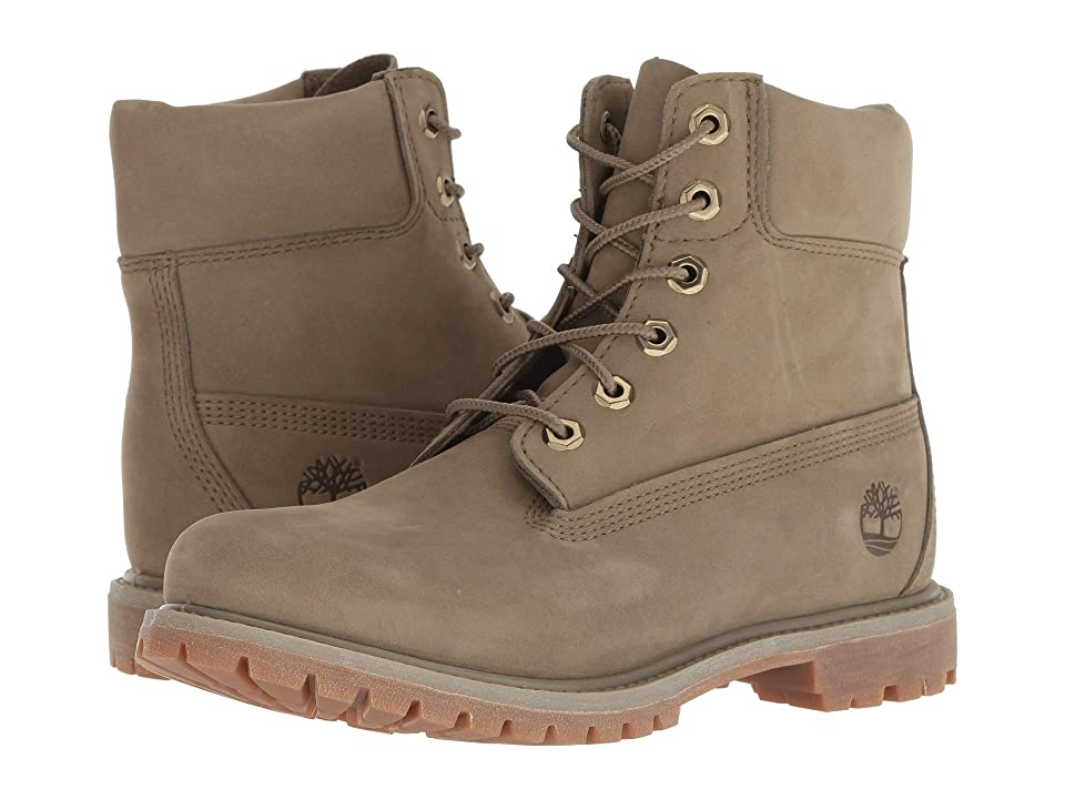 Timberland 6 Premium Boot (Light Green Nubuck 2) Women