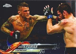2018 Topps Chrome UFC MMA #23 Dustin Poirier