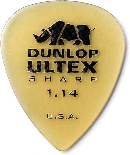 Dunlop 433 ULTEX Sharp Púas - Refill Pack 1.14mm, ivory (72 pack)