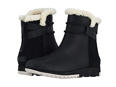 SOREL Harlowtm Bootie Cozy (Black) Women