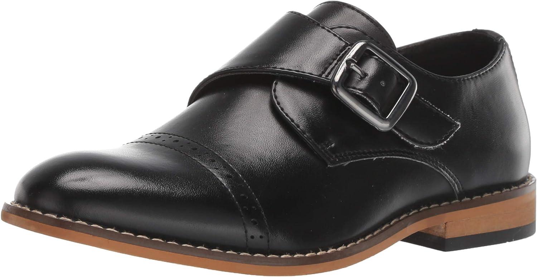 STACY ADAMS Unisex-Child Desmond Monk Cap-Toe 25% OFF Loafer Strap Max 88% OFF
