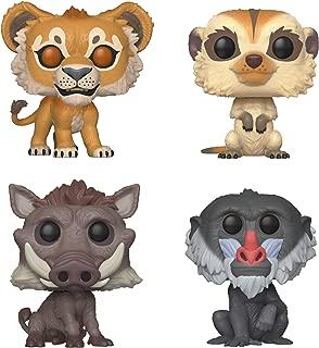 Funko Disney: POP! Lion King Live Collectors Set - Simba, Timon, Pumbaa, Rafiki