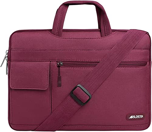 MOSISO Laptop Shoulder Bag Compatible with 13-13.3 Inch MacBook Pro, MacBook Air, Notebook Computer, Protective Polye...