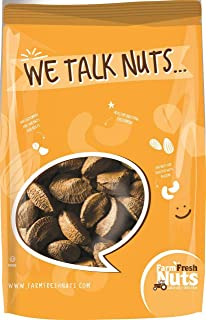 Farm Fresh Nuts IN SHELL BRAZIL NUTS ~ Raw Natural Brazilian Nuts ~ (1 LB)