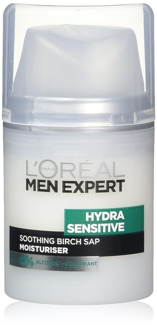 追跡一時的カバーロレアル Men Expert Hydra Sensitive Moisturiser 50ml/1.6oz並行輸入品