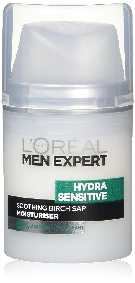 アノイストレッチ付添人ロレアル Men Expert Hydra Sensitive Moisturiser 50ml/1.6oz並行輸入品
