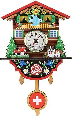 Nazaka | Wall Clocks | 1 Piece 3 Style Cuckoo Clock Wall Clock Living Room Bird
