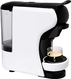 IKOHS Máquina de Café Espresso Italiano - Cafetera Multi Cápsulas Nespresso 3 en 1, 19 Bares con 2 Programas de Café, deposito extraíble, 0,7 L, diseño Compacto, 1450 W, Apagado automático Blanco
