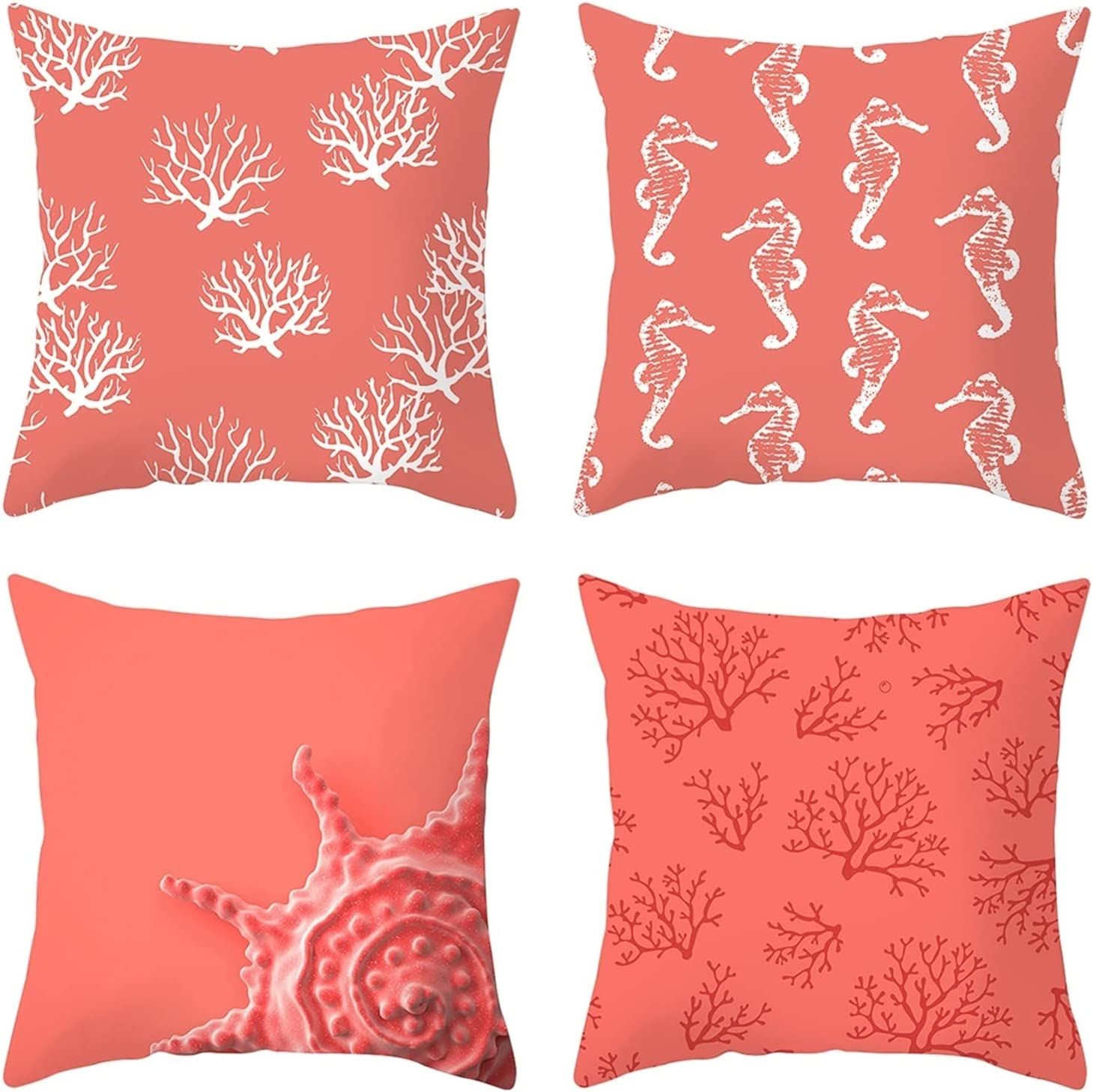 Daesar Decorative Pillow Cases 4 Cor Outdoor Covers Challenge Super sale period limited the lowest price Pack