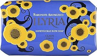 Claus Porto Illyria Honeysuckle Soap for Unisex, 12.4 Ounce